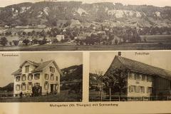 20190329_211740 Postkarte Weingarten Vereinshaus Post